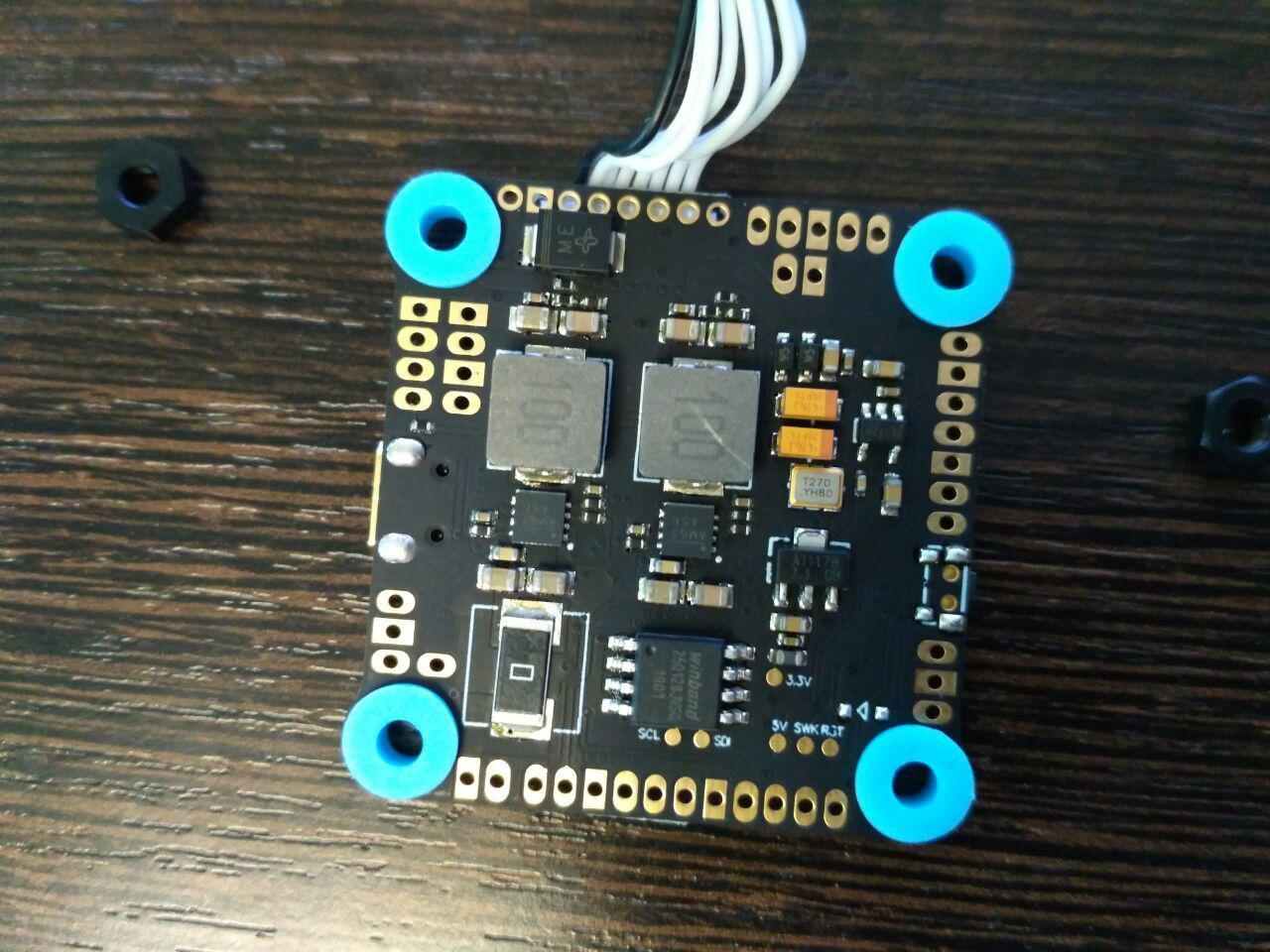 MAMBA F405 MK2 и MAMBA F405 mini MK2: обзор на полетные контроллеры