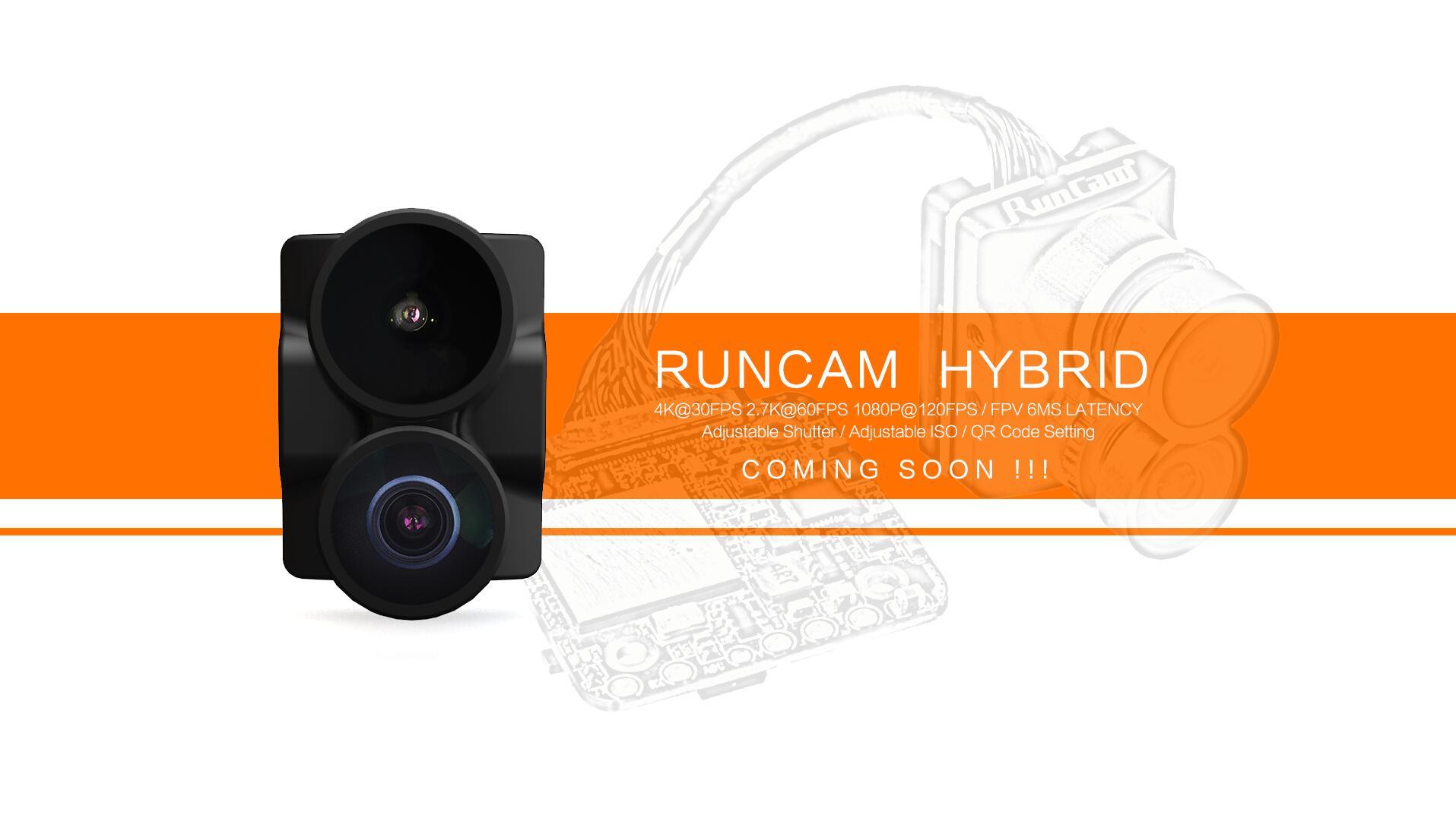 RunCam Hybrid - новая двойная FPV камера