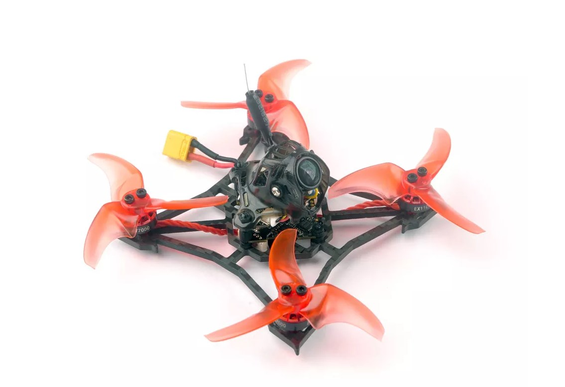 Happymodel Larva X - мощный гоночный микро квадрокоптер