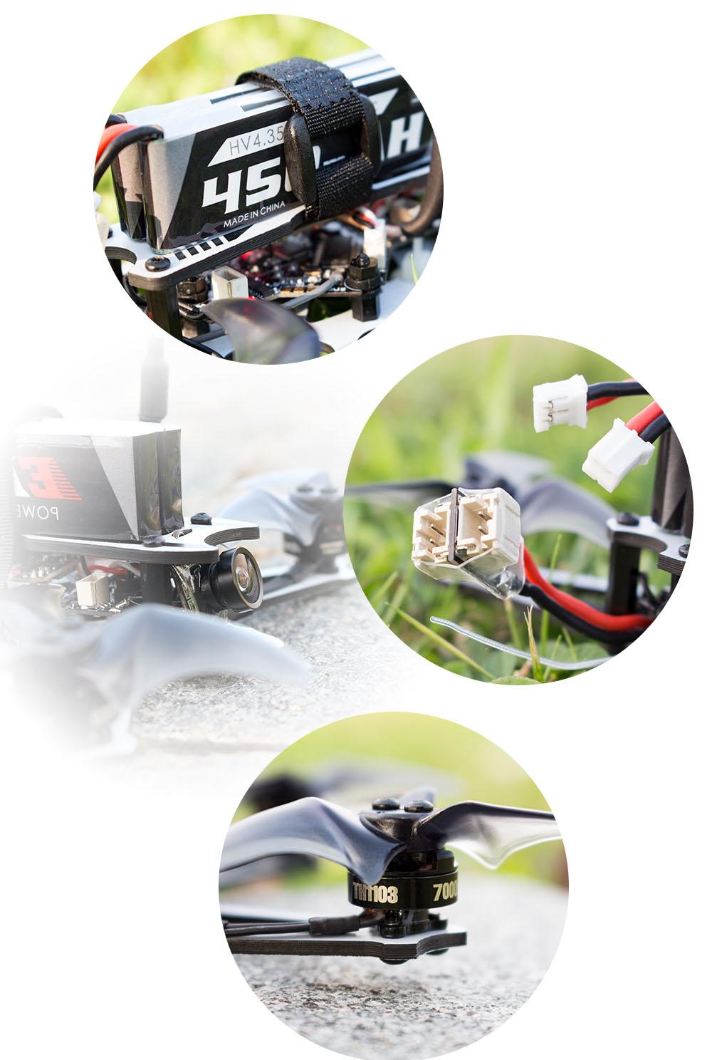 EMAX Tinyhawk - квадрокоптер для фристайла