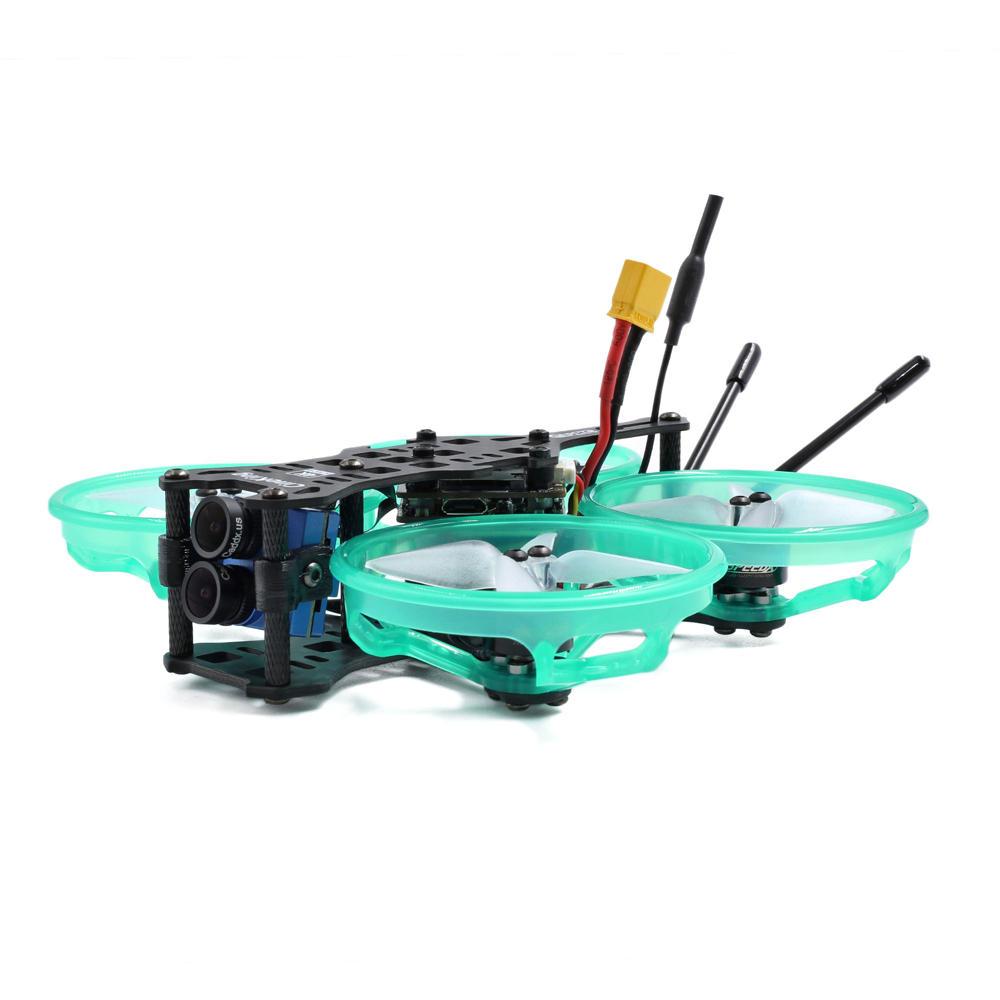 Geprc CineKing 4K - микро дрон Whoop с двойной камерой