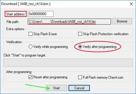 Как добавить функцию RSSI в приемник FlySky, прошивка приемника