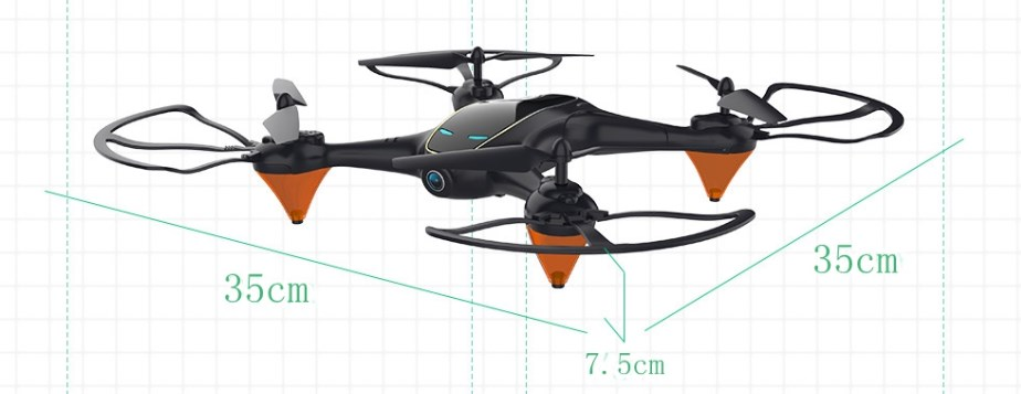 Eachine E38, обзор и технические характеристики