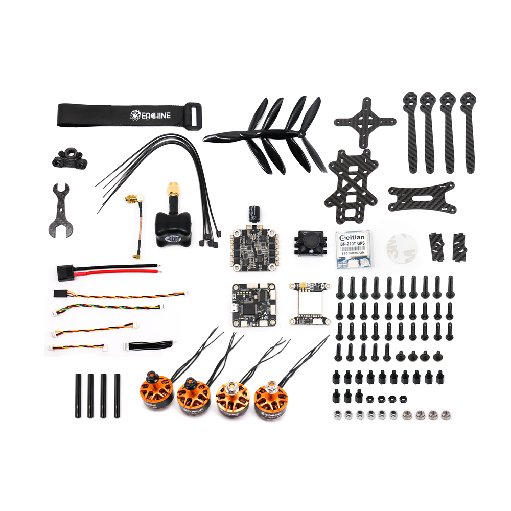 Eachine Tyro119, КИТ-набор гоночного квадрокоптера