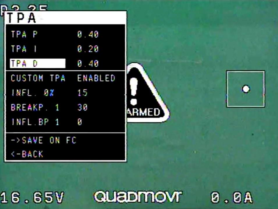 OSD FetTec. Конкурент Betaflight OSD?