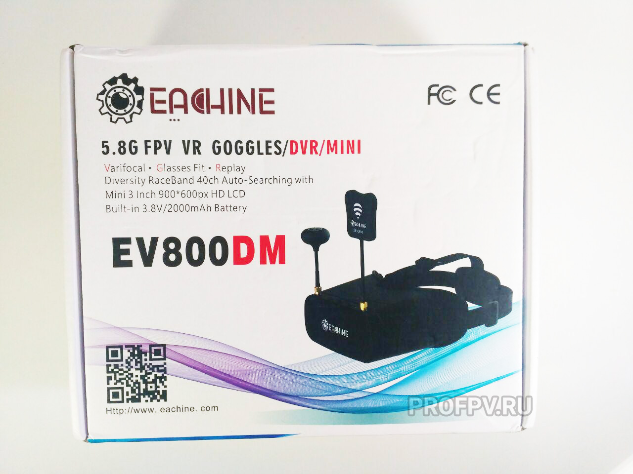 Обзор Eachine EV800DM