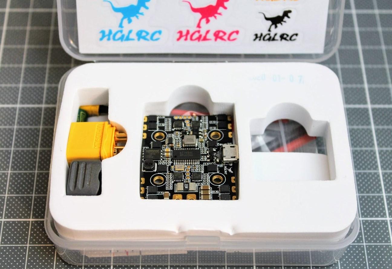 HGLRC Zeus35 AIO - полетный контроллер все в одном