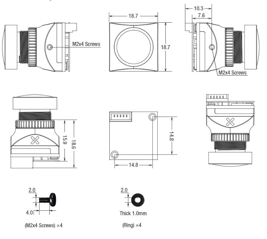 Foxeer Cat 2 Mini и Micro: FPV камера для ночных полетов