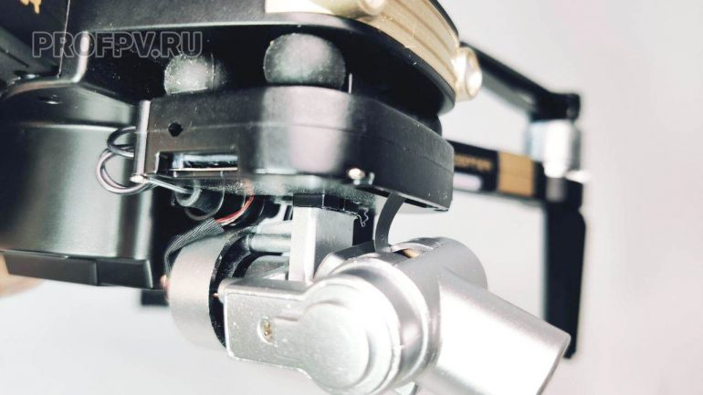 Камера и подвес сбоку 5