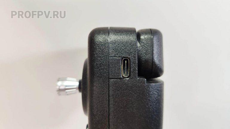 Разъем USB на пульте
