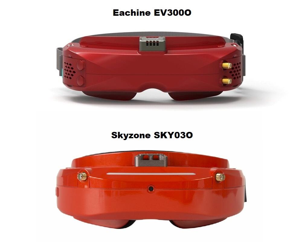 Сравнение с Skyzone SKY03O