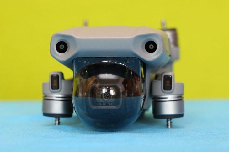 Обзор Mavic Air 2 - камера с защитой