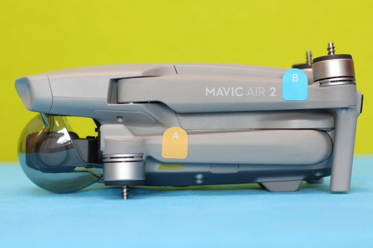 Обзор Mavic Air 2 - вид сбоку 3