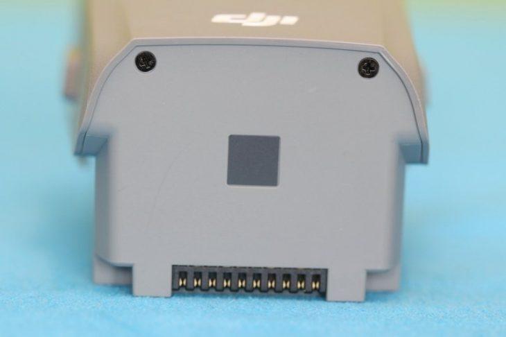 Обзор Mavic Air 2 - аккумулятор сзади