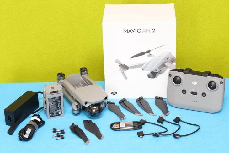 Обзор Mavic Air 2 - комплект