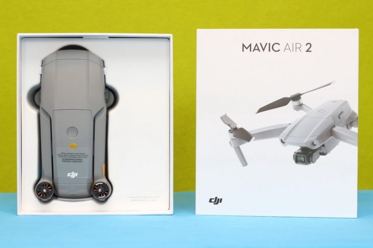Обзор Mavic Air 2 - коробка 2