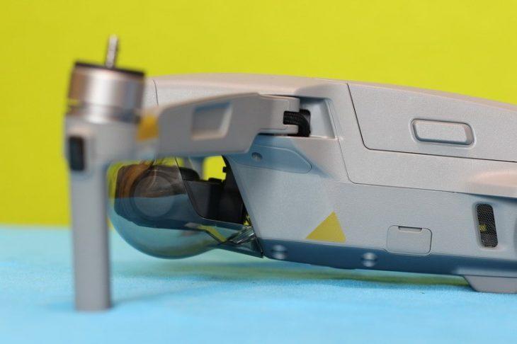 Обзор Mavic Air 2 - в разложенном виде сбоку