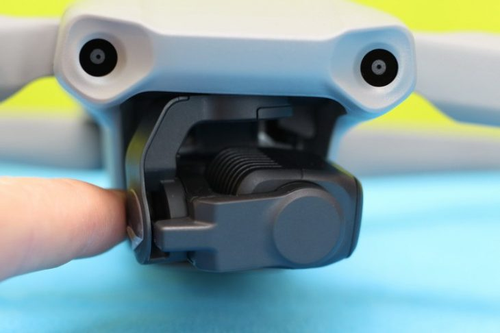 Обзор Mavic Air 2 - подвес камеры