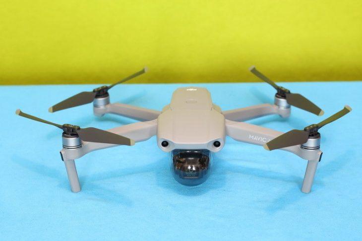 Обзор Mavic Air 2 с протектором камеры