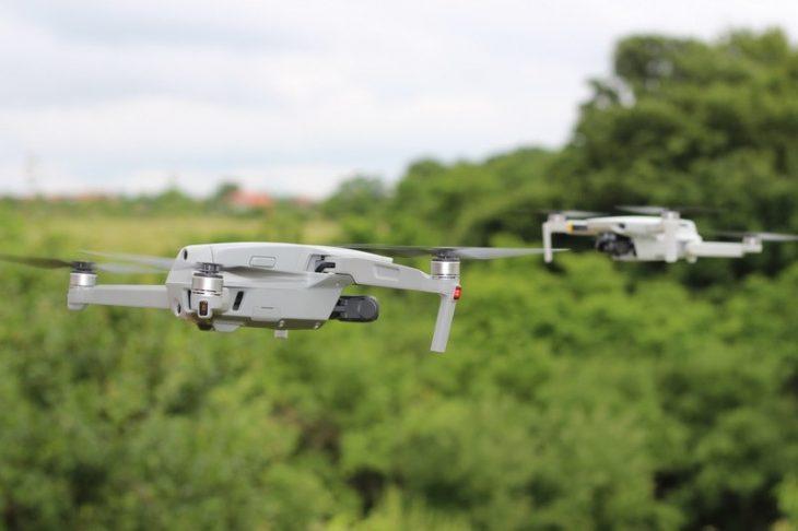 Обзор Mavic Air 2 - в воздухе с Мавик Мини