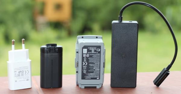 Mavic Air 2 и Mavic Mini: сравнение аккумуляторов