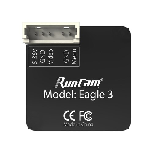RunCam Eagle 3 - FPV камера для дрона - вид сзади