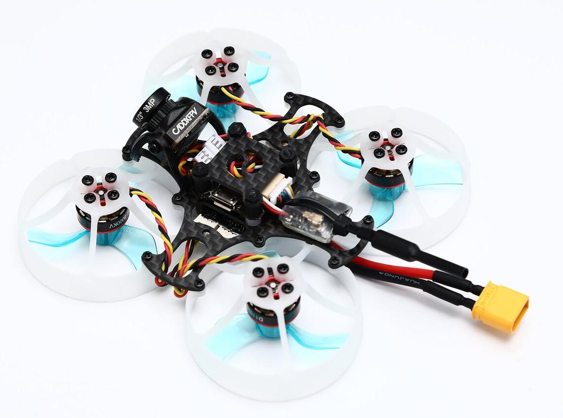 Вид сбоку - Микро дрон FullSpeed TinyPusher на раме 75 мм CineWhoop