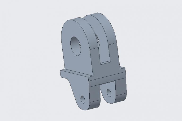 3D модель крепления