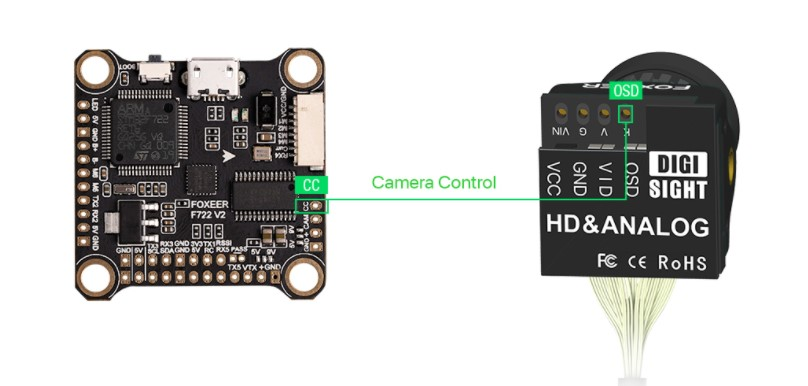 Foxeer Digisight аналоговая и цифровая FPV камера