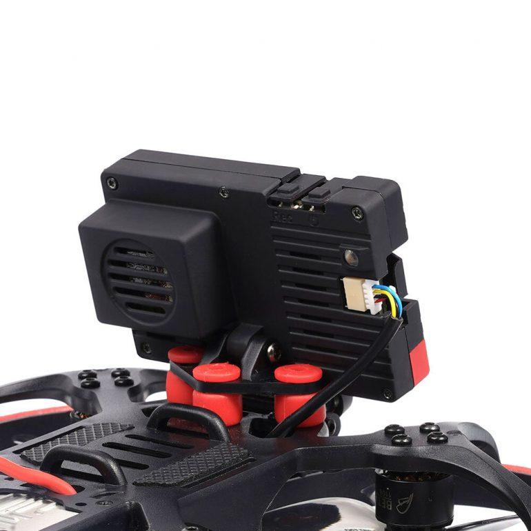 Insta360 SMO 4K крепление и подключение на дроне