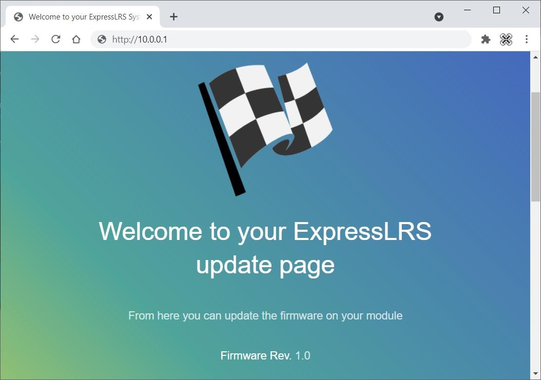 ExpressLRS - передатчики и приемники: настройка, прошивка и обновление