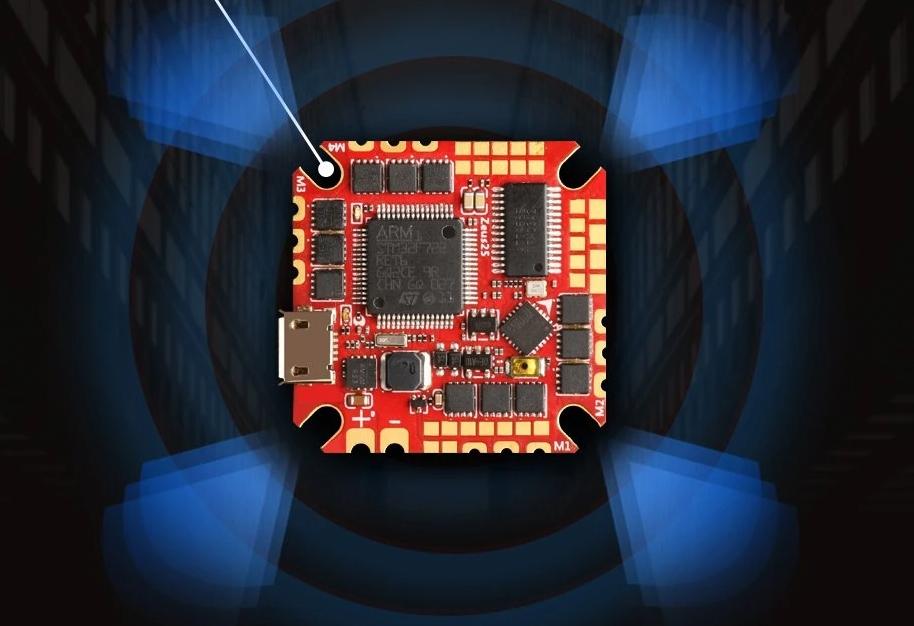 HGLRC Zeus25 AIO - полетный контроллер для микро квадрокоптера