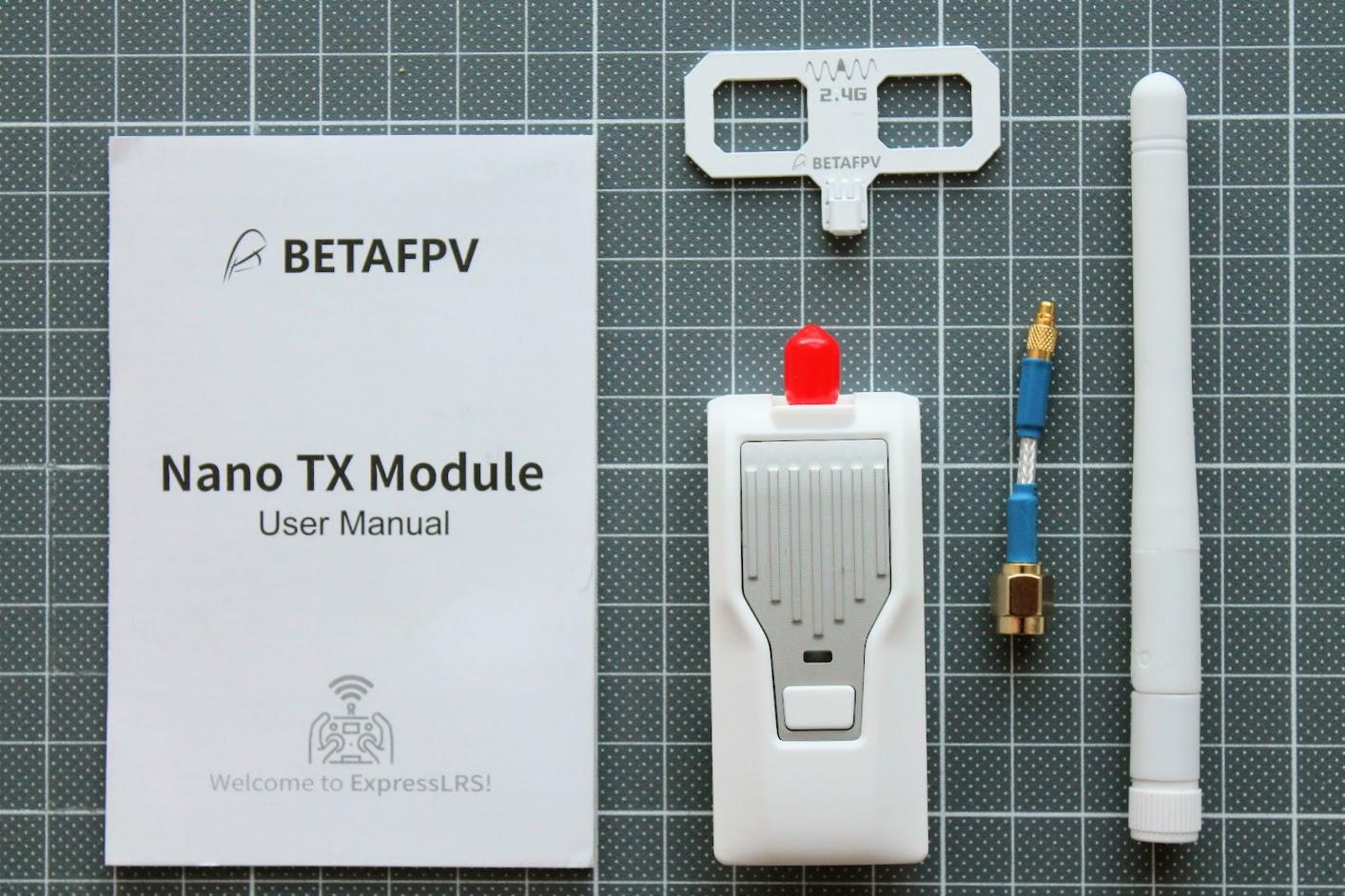 Обзор BetaFPV ExpressLRS 2.4 GHz