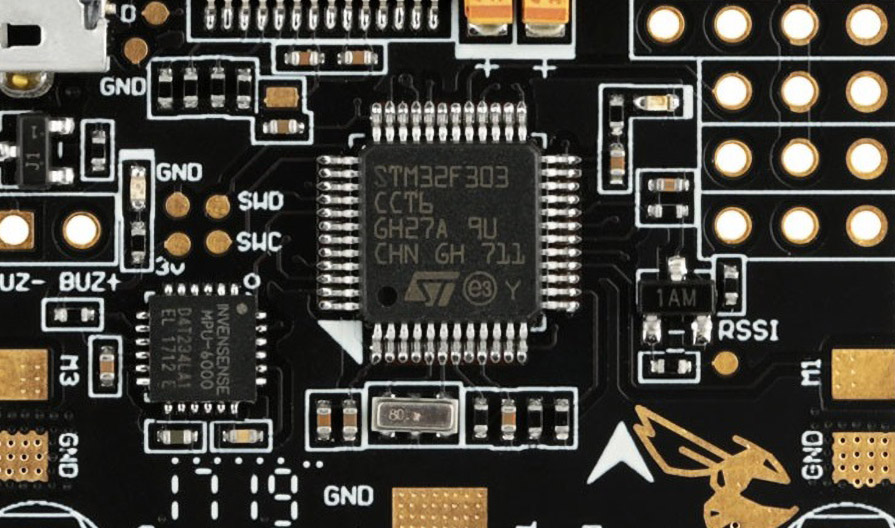 MCU полетного контроллера, разновидности: F1, F3, G4, F4, F7 и H7